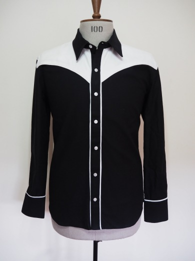 50's style western shirt