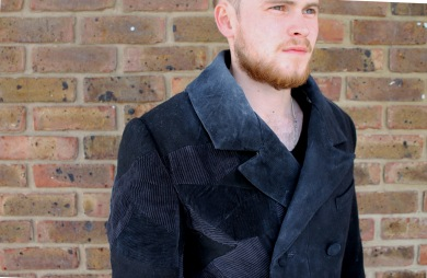 Hand Patch worked Double Breasted Frock Coat for the AUB production of Bleak House