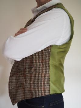 Modern Tweed Waistcoat